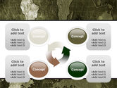 Metal Map PowerPoint Template#9