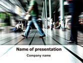 Consulting: Moving People PowerPoint Template #06209