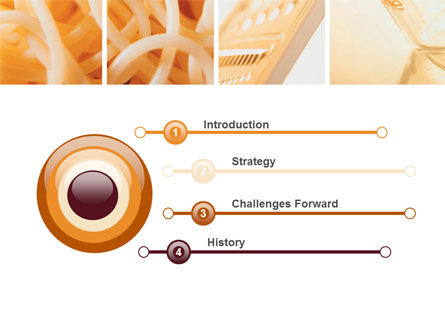 Pasta PowerPoint Template, Slide 3, 06213, Food & Beverage — PoweredTemplate.com