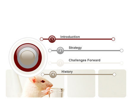 Rodent PowerPoint Template, Slide 3, 06214, Technology and Science — PoweredTemplate.com