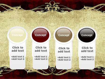 Faded Ornament PowerPoint Template Slide 5