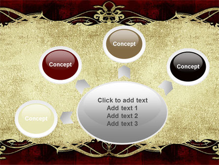 Faded Ornament PowerPoint Template Slide 7