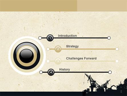 Industrial Silhouette PowerPoint Template, Slide 3, 06216, Utilities/Industrial — PoweredTemplate.com