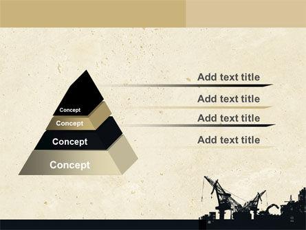Industrial Silhouette PowerPoint Template, Slide 4, 06216, Utilities/Industrial — PoweredTemplate.com