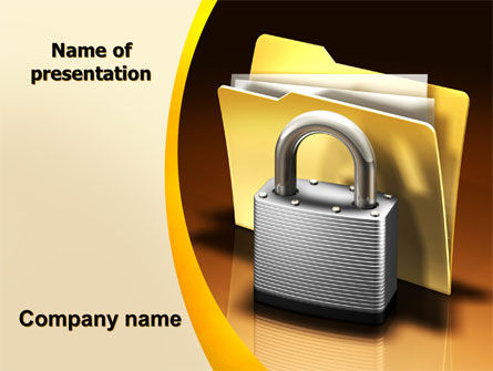 Secure Data PowerPoint Template