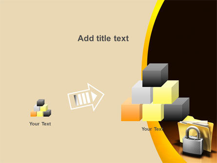 Secure Data PowerPoint Template Slide 13