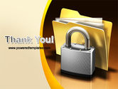 Secure Data PowerPoint Template#20