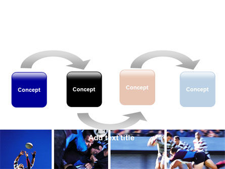 Rugby Collage PowerPoint Template, Slide 4, 06219, Sports — PoweredTemplate.com