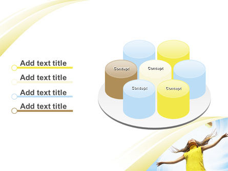 Girl With Books PowerPoint Template Slide 12