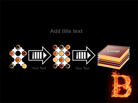 B Letter PowerPoint Template Slide 9