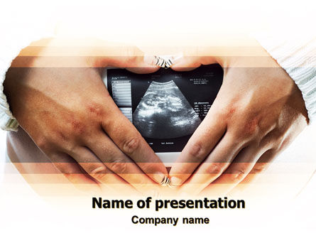 Medical: Ultrasonic Scanning PowerPoint Template #06224