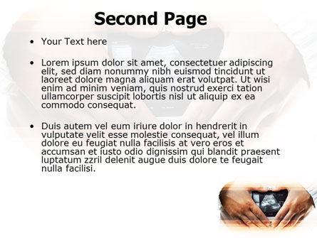 Ultrasonic Scanning PowerPoint Template, Slide 2, 06224, Medical — PoweredTemplate.com