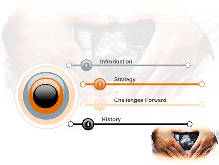 Ultrasonic Scanning PowerPoint Template, Slide 3, 06224, Medical — PoweredTemplate.com