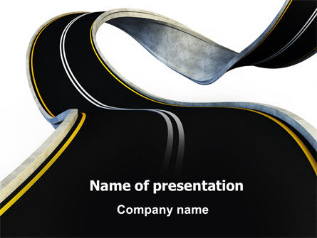 High Way PowerPoint Template
