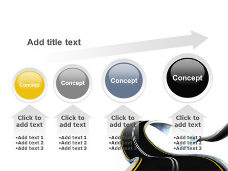 High Way PowerPoint Template Slide 13
