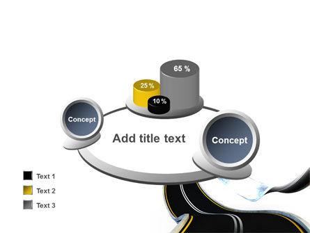 High Way PowerPoint Template Slide 16