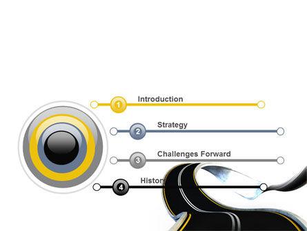 High Way PowerPoint Template, Slide 3, 06225, Construction — PoweredTemplate.com