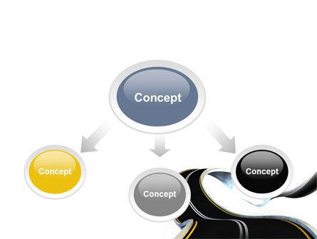 High Way PowerPoint Template, Slide 4, 06225, Construction — PoweredTemplate.com