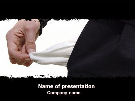 Hint PowerPoint Template, 06228, Consulting — PoweredTemplate.com