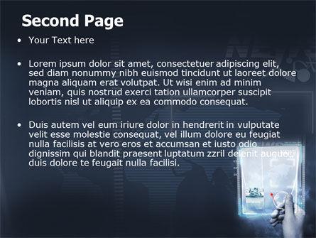 High Tech PowerPoint Template, Slide 2, 06229, Technology and Science — PoweredTemplate.com