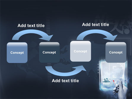 High Tech PowerPoint Template, Slide 4, 06229, Technology and Science — PoweredTemplate.com