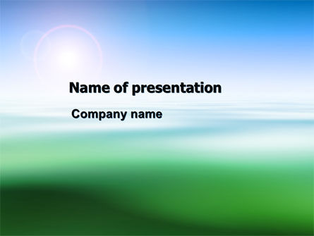 Abstract Blur PowerPoint Template
