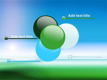 Abstract Blur PowerPoint Template Slide 10