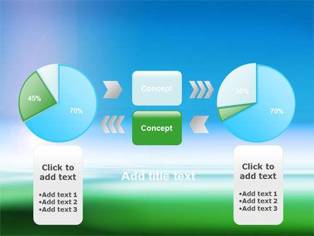 Abstract Blur PowerPoint Template Slide 11