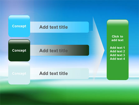 Abstract Blur PowerPoint Template Slide 12