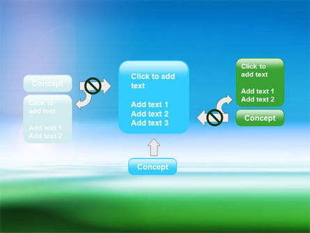 Abstract Blur PowerPoint Template Slide 13