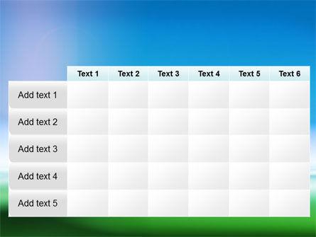 Abstract Blur PowerPoint Template Slide 15