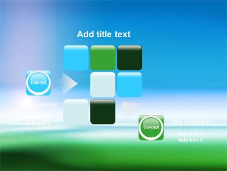 Abstract Blur PowerPoint Template Slide 16