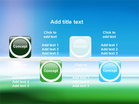 Abstract Blur PowerPoint Template Slide 19