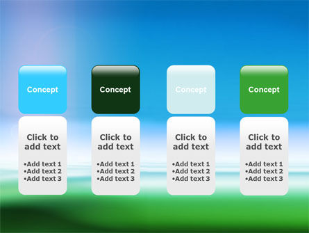 Abstract Blur PowerPoint Template Slide 5