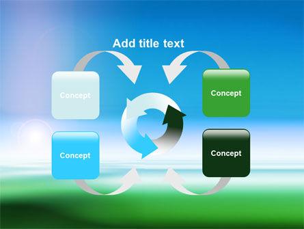 Abstract Blur PowerPoint Template Slide 6