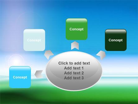 Abstract Blur PowerPoint Template Slide 7