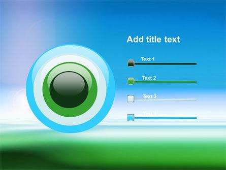 Abstract Blur PowerPoint Template Slide 9