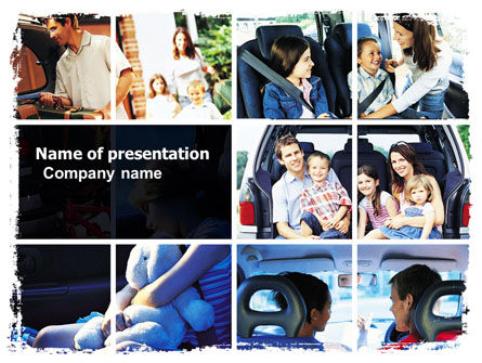 Family Travel PowerPoint Template, 06233, Consulting — PoweredTemplate.com