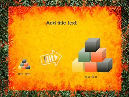 Green Plants Pattern PowerPoint Template Slide 13