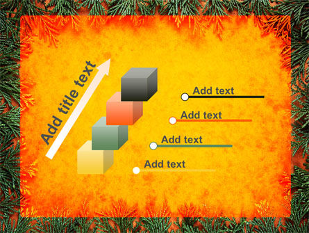 Green Plants Pattern PowerPoint Template Slide 14
