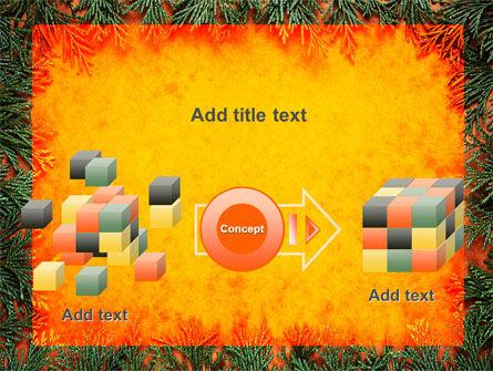 Green Plants Pattern PowerPoint Template Slide 17
