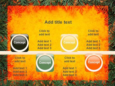 Green Plants Pattern PowerPoint Template Slide 18