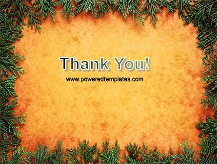Green Plants Pattern PowerPoint Template Slide 20
