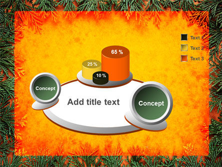 Green Plants Pattern PowerPoint Template Slide 6
