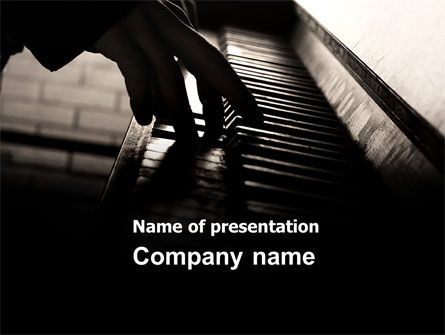 Pianist PowerPoint Template