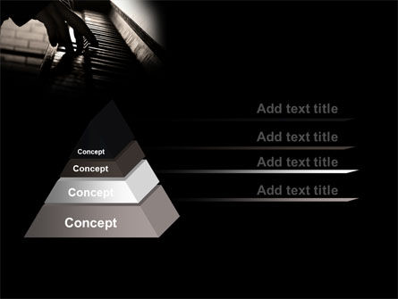 Pianist PowerPoint Template Slide 12