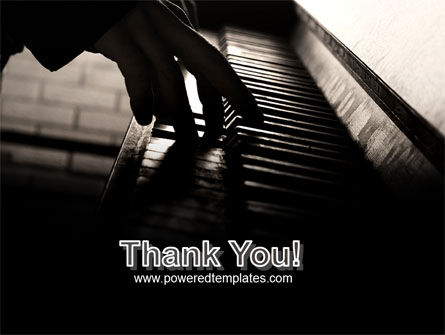 Pianist PowerPoint Template Slide 20