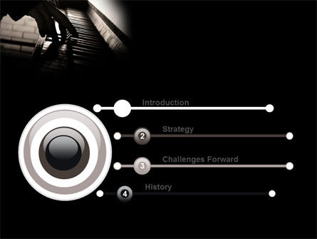 Pianist PowerPoint Template Slide 3