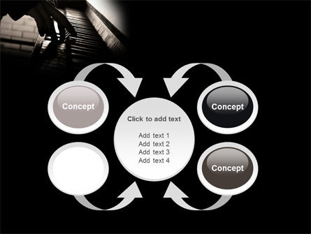 Pianist PowerPoint Template Slide 6