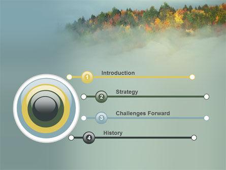 Autumn Mountain View PowerPoint Template, Slide 3, 06237, Nature & Environment — PoweredTemplate.com